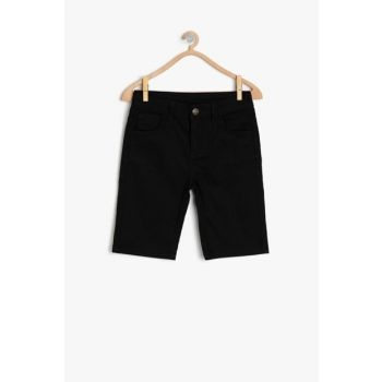 Black Boy Jean Shorts 9YKB46379OD