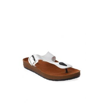 Beige Men's Slippers - 0475M - EA15SE001-120