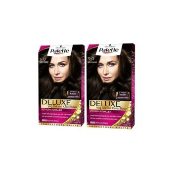 Deluxe 3-0 Dark Brown 50X 2 Pack SET.HNKL.240