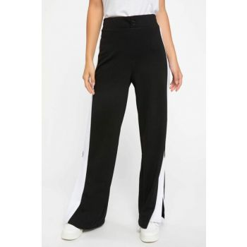 Women's Panties Detailed Palazzo Pants J7759AZ.18AU.BK27