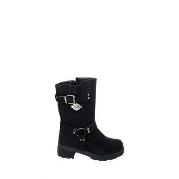 Black Children's Boots Ea27Of27265-500