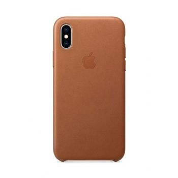 iPhone XS Leather Case-Saddle Brown MRWP2ZM / A