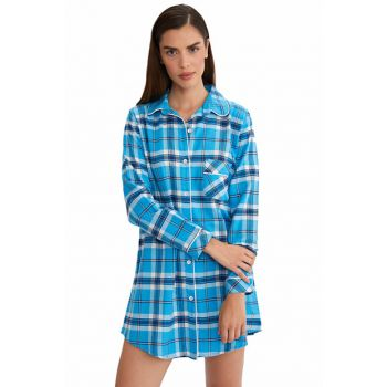 Women's Turquoise Tunic Nightgown 59485 59485
