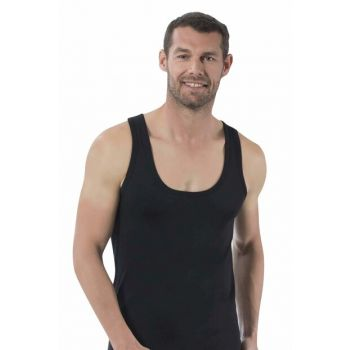 Men's Black Single Jersey Athlete 0050