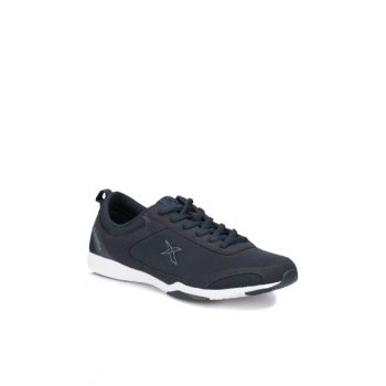 Navy Blue Unisex Kids Walking Shoes VELEZ