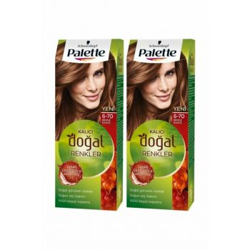 Permanent Natural Colors 6-70 Bronze Kahvex 2 Pack SET.HNKL.281