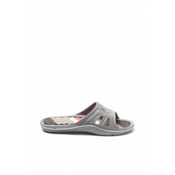 Men's Gray Slippers - Esm615.M.000 - EA18SE008
