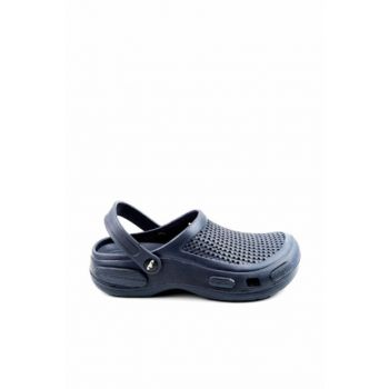 Navy Blue Men's Slippers E087.M.000