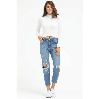 Women's Straight Jean New Boyfriend LF2016092