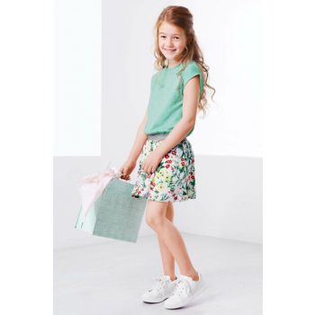 Children Organic Cotton Dress Green 94176