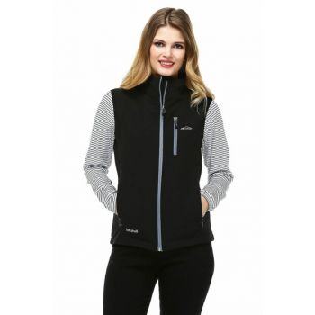 Neon Softshell Women's Vest - Gray