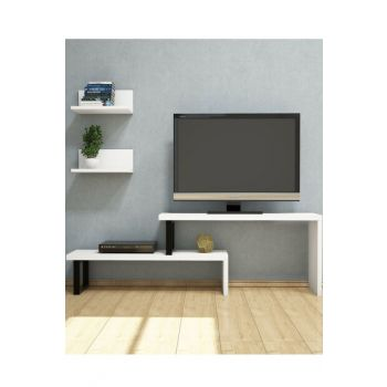 Dırva White Tv Unit PUTV4044
