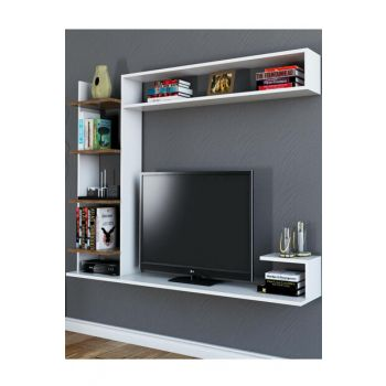 Noble White Walnut Tv Unit PUTV4025