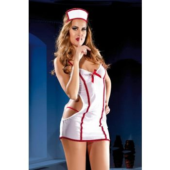 Women's White Ultra Lux Fantasy Nightgown 6714