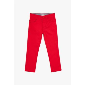 Red Boy's Pocket Trousers 9YKB46219OW