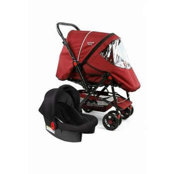 Baby P 101 Travel System Strollers Two Way Baby Stroller - Raincoat Foot Cover 820310