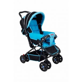 Lucıdo Two Way Baby Stroller Blue Black RV102