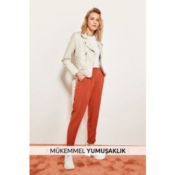 Tile Lyocell Carrot Pants TOFSS19ST0009
