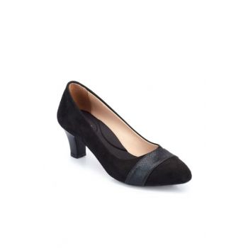 Black Women's Heels Shoes 000000000100336035