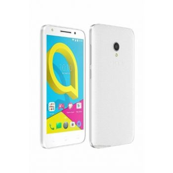 ALCATEL U5 8 GB HD 5074D WHITE MOBILE PHONE (GENPA GUARANTEED) ALCATELU5