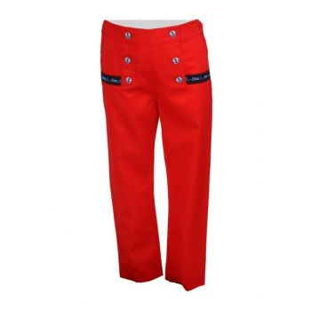 Red Girls Children's Pants 71M4CRE01 71M4CRE01
