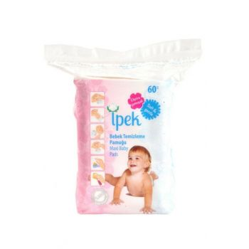 Baby Cleaning Cotton 60 Pieces 8691275850029
