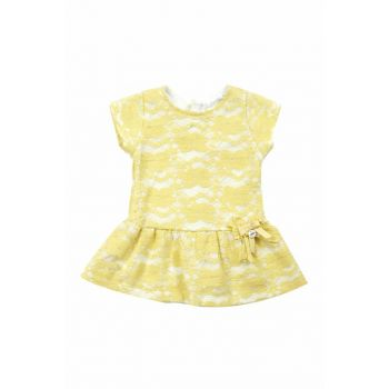 Yellow Girls' Dress K-61M2LBM31 K-61M2LBM31