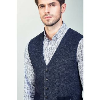 Men's Anthracite Vest - A82Y6516-44 A82Y6516-44