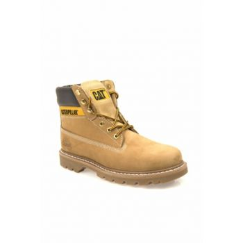 Genuine Leather Yellow Men Boots T1111000101