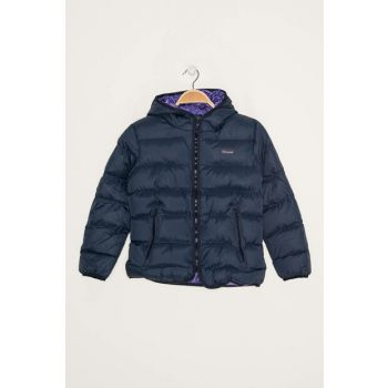 Navy Blue Unisex Kids Coats