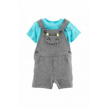 Gray Baby Boy Gardener Shorts 16454011