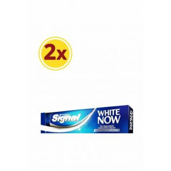 Toothpaste White Now 75 mlx2 SET.UNI.223