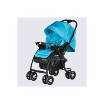 Double Way Baby Stroller - Blue 86970286021671
