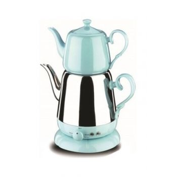A339-03 Nosta Electric Teapot Inox / Blue krm0038