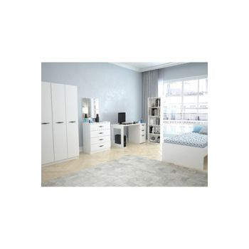 Bright White Texas Teen Room With 3 Covers (Bright White) 123TEKSAS001