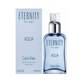 Eternity Aqua Edt 100 ml Men's Fragrance 3607342107977