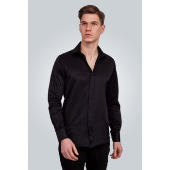 Men's Black Shirt - MD1200000010-142
