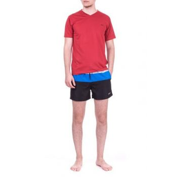 Men's Black Sea Shorts - Soul - ST18SE031-500