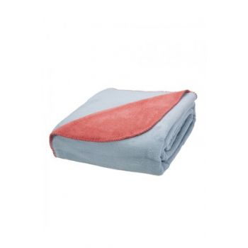 Double Doria Double Sided Salmon Cotton Blankets 200.11.01.0205