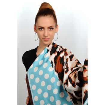 Patterned Twill Scarf 5306131089