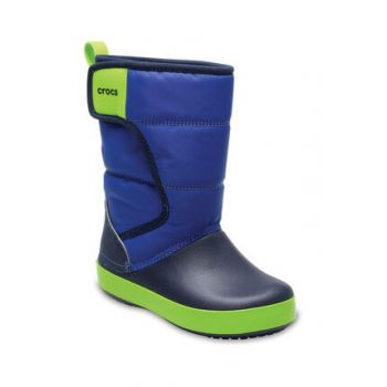 Navy Blue Children's Boots 204660