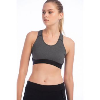 Women's Sports Bra - Drst Ask Spr H Women's Bustier Gray - CF6607