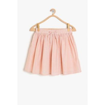 Red Girl Child Patterned Skirt 9YKG77944OW