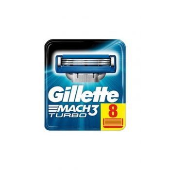 Mach3 Turbo Replacement Razor Blades 8 in 3014260331320