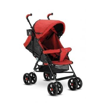 Sienna Baston Baby Stroller Full Mattress - Red (Suitable for Newborn) 1765021