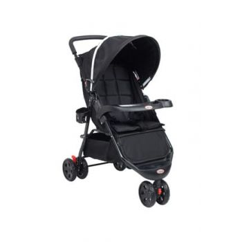 Comfy Three Wheel Baby Stroller Black RV103