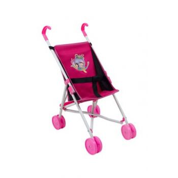Minion Toy Walking Stick Baby Carriage Fuchsia RV1001