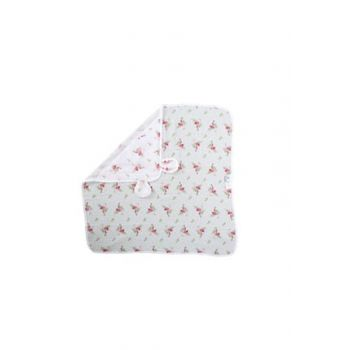 Muslin Baby Swaddle With Ear Flamingo 8681235010990
