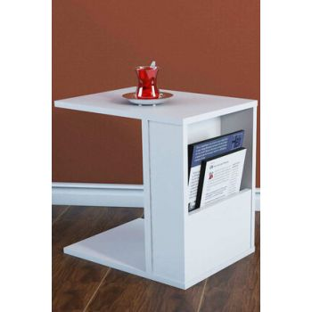 Star White C Side Table PUSE3020