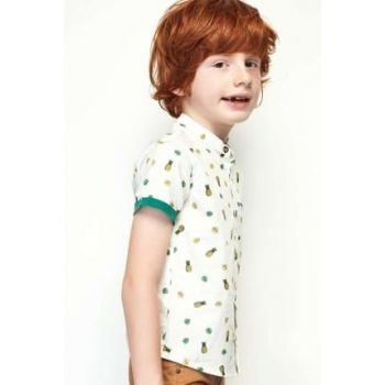 Boy's Patterned Shirt 19SS0NB3601